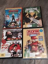 Alvin & Chipmunks Squeakquel DVD + 4 other movies Mile End West Torrens Area Preview