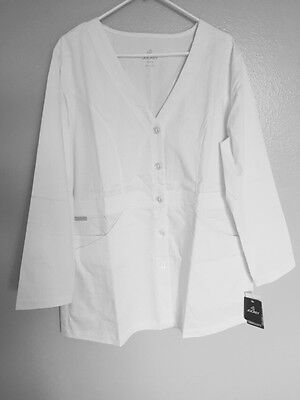 Women's Jockey Lab Coat Size 18 New With Tags