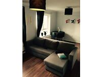 2 bedroom flat fully furnished .