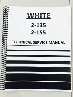 2-135 White Tractor Technical Service Shop Repair Manual Book Diesel 2 135