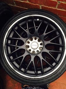 Tyres with rim 225/40/18 urgent sale only $800 Como South Perth Area Preview