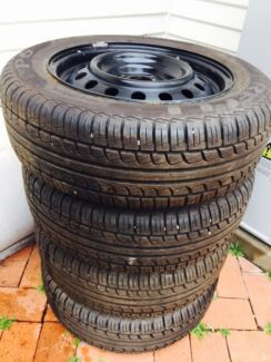 "4 brand new 15"" 4 stud Pirelli wheels with brand new tyres Blacktown Blacktown Area Preview"