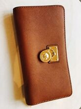 Michael Kors Hamilton Wallet in Luggage / Tan RRP $225 Hope Island Gold Coast North Preview