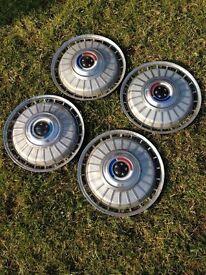 Classic wheel trims for corsair - 13ins