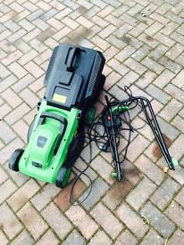 Bentley garden lawnmower electric cut grass. 1200w