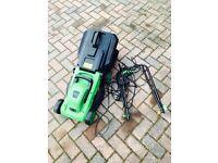 Bentley garden lawnmower electric cut grass. 1200w