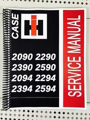 2294 Case International Harvester Technical Service Shop Repair Manual Ih