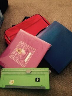 Scrapbooking tote, album, cutter and paper Redland Bay Redland Area Preview