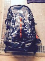 Waterproof backpack, the north face
