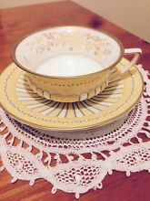 Bone China Cup & Saucer Grange Charles Sturt Area Preview