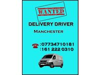 Wanted Delivery Driver – Manchester