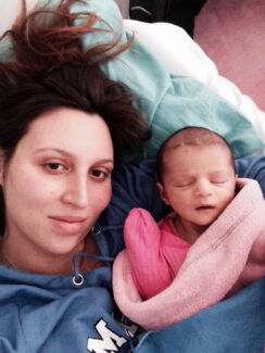 25yo mother w/newborn need new home Kingston Logan Area Preview