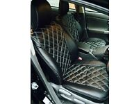 TOYOTA PRIUS, DESIGNER SEAT COVERS, MADE TO MEASURE BY CSC!!!
