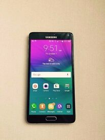 Immaculate Condition Samsung Galaxy Note 4 inc Stylus, Spare Batteries & USB UK Charger – Almost New