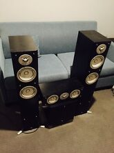 Yamaha Surrounds Sound Speakers North Perth Vincent Area Preview