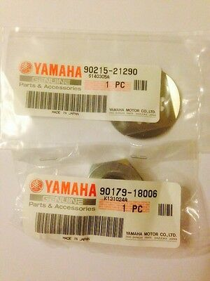 GENUINE <em>YAMAHA</em> FZS600 FAZER FRONT SPROCKET NUT AND WASHER KIT