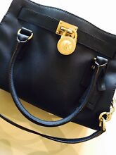 Michael Kors - Hamilton Saffiano Leather East West in Navy RRP $525 Hope Island Gold Coast North Preview
