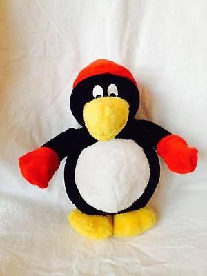 Uli Stein Pinguin mit Handschuhen Plüschi Pingi 25 cm U9063 Kuscheltier