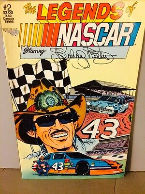 The Legends of NASCAR #2 Starring RICHARD PETTY 1990 Vortex Comics STP 43