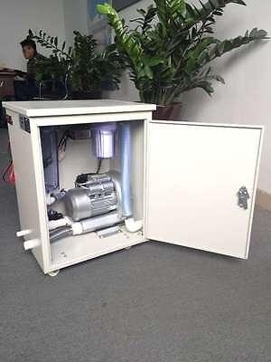 Zeta Medical Portable Vacuum Pump Suction Unit System 1500lmin For Dental Chair