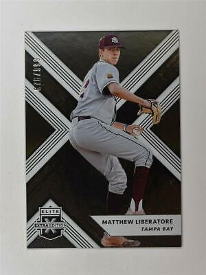 2018 Elite Extra Edition Base #15 Matthew Liberatore /999 Extra Baseball Base