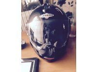Caberg flip up crash helmet