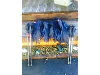 Gaiters and Walking poles