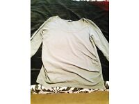 """MOTHERCARE"" MUM TO BE SIZE LARGE LONG SLEEVE TOP"