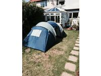 Four man tent excellent condition camping