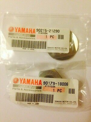 GENUINE <em>YAMAHA</em> YZF600R THUNDERCAT FRONT SPROCKET NUT AND WASHER KIT