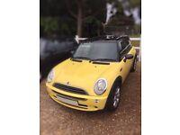 MINI 1.6 yellow 2004