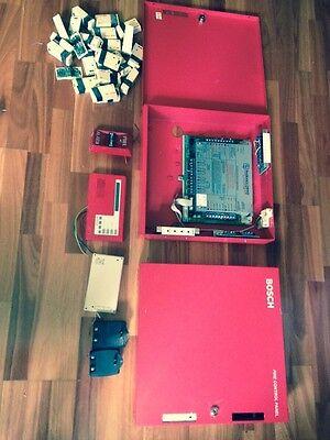 Bosch Fire Alarm Panel Radionics D9112 Wbatt Box Keypad Many Accessories
