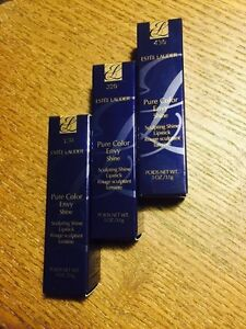 Estee Lauder Pure Coloe Envy Shine Lipsticks