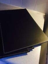 For sale!!! Leather place mats for dining table Ingleburn Campbelltown Area Preview