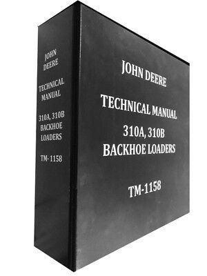 310b John Deere Backhoe Technical Service Shop Repair Manual 310 B