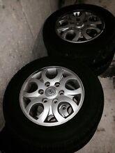 Hyundai iload/ imax wheels set 4 Sydney City Inner Sydney Preview