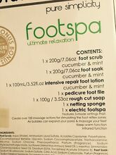 Planet earth electric foot spa Earlwood Canterbury Area Preview
