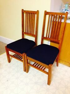 Pair of Nice Large Sturdy Chairs