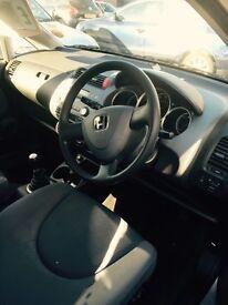 Silver Honda Jazz. 53 plate. 58,000 Miles