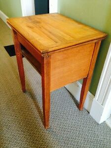 "Antique Repurposed Sewing Cabinet Stand, 23.5"" x 18.5"" x 30.5"""