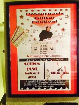 Eric Clapton Poster SKU 43949