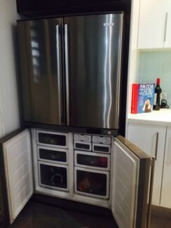 FIRE SALE!! Stainless steel Electrolux fridge with 4 doors handle. Nundah Brisbane North East Preview