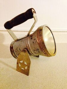 Vintage Star & Headlight Railway Lantern