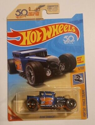 2018 Hot Wheels Bone Shaker Ultimate Super Treasure Hunt 50th