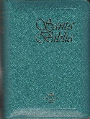 Biblia Tamaño Bolsillo verde claro Cierre E Indice RV60