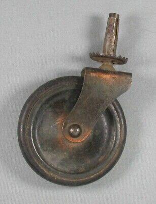 Vintage Metal Caster Wheel