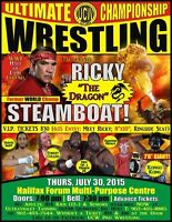 Live PRO WRESTLING Feat. WWE Legend, Ricky Steamboat!!