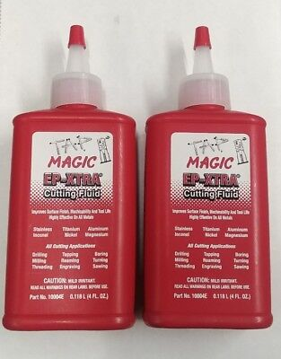 2 Pack Tap Magic Cutting Fluid For All Cutting Operations Using Taps Dies