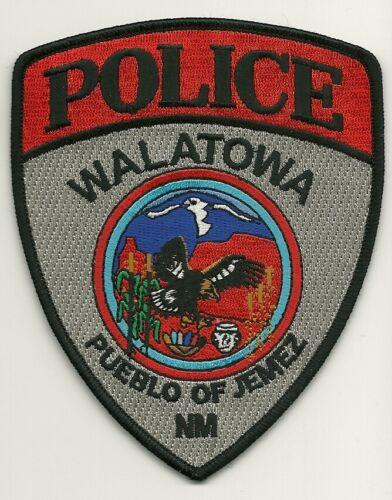 Wallatowa Police State New Mexico NM Colorful