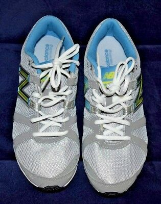 d73d4d04ee8b0 Woman s NEW BALANCE Running shoes 690 size 10 Gray blue neon Green
